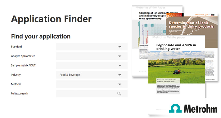 Food and beverage applications