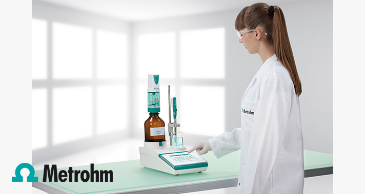 Simple salt titration with the Metrohm 916 Salt Ti-Touch