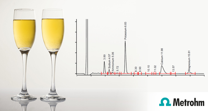 Low cost analysis of metals in wine