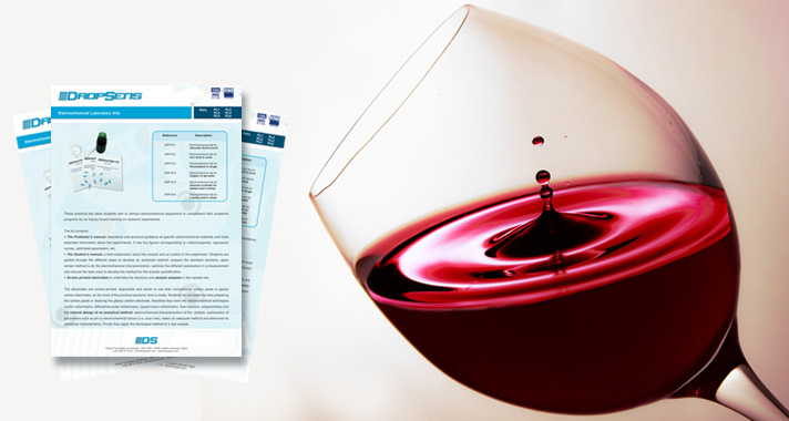 Electrochemistry Teaching & application kit focused on the determination of L-lactic acid in wine samples