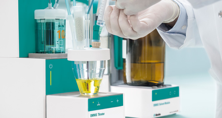 Press Release: Safer and easier – Karl Fischer titration with OMNIS