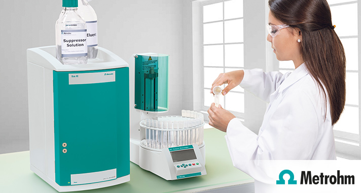 Ion Chromatography. Analyse in minutes. Experience for a lifetime.