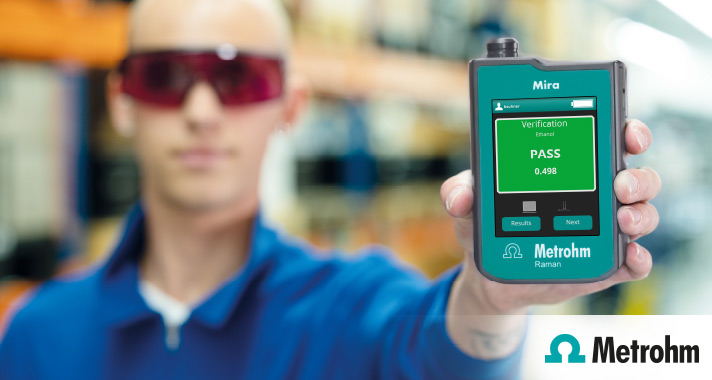 The new Mira P for the pharmaceutical industry: Instant onsite verification of raw materials