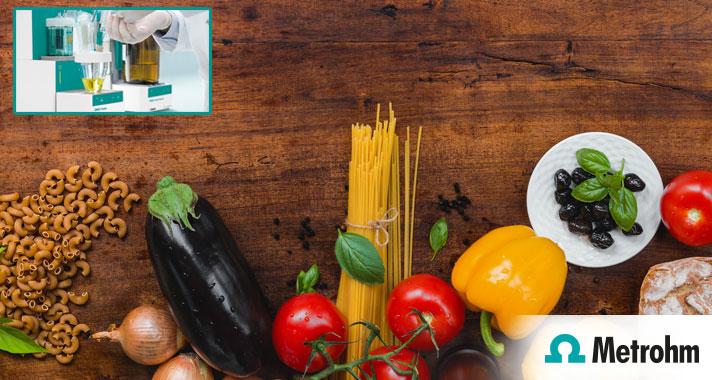 Karl Fischer titration, accurate moisture analysis in foodstuff