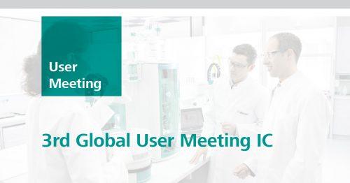 3rd Global User Meeting IC