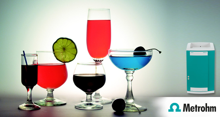 Chloride, nitrate, phosphate and more in beverages with the new ECO IC