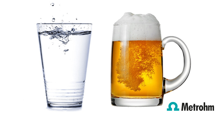 Test the quality of the water going into your beer production