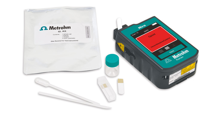 D Kit – fast, easy, and accurate detection of heroin and other illicit drugs